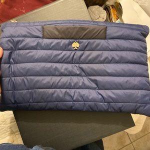 Kate Spade puffer clutch bag